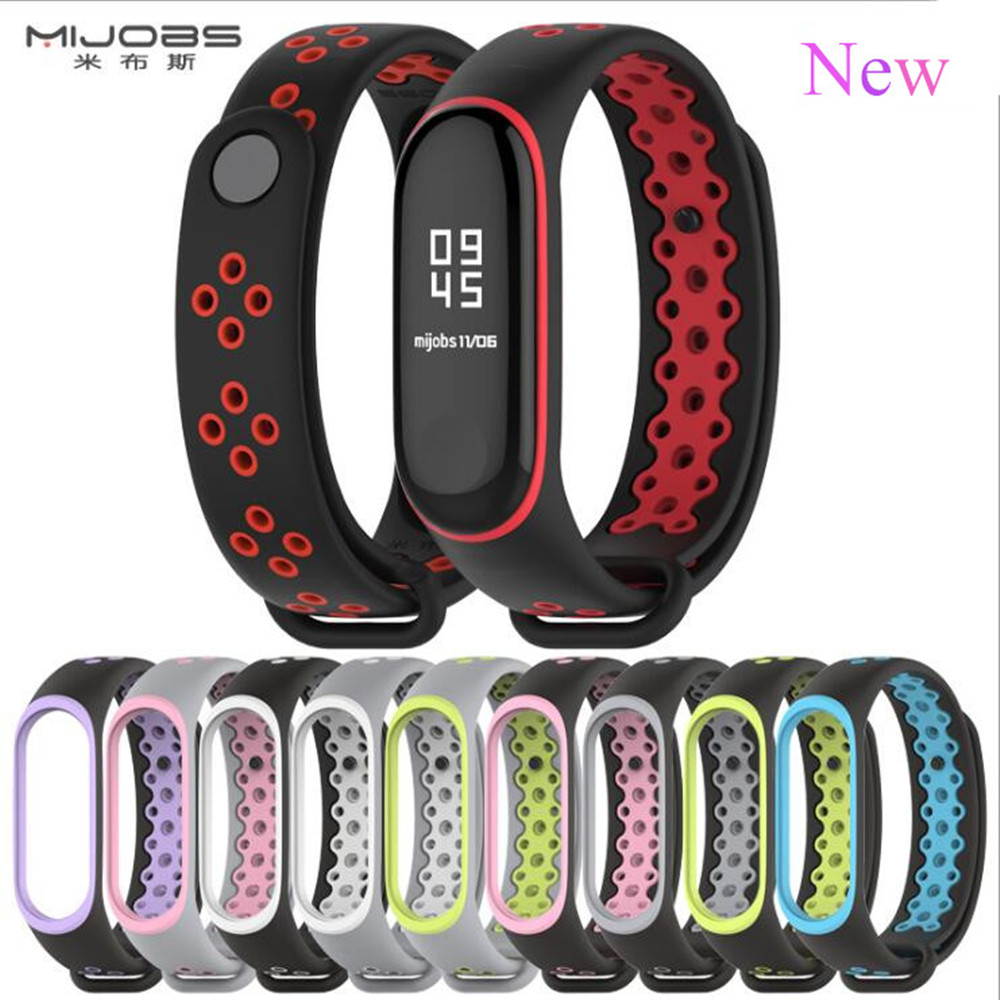Mi Band 3 Strap Bracelet wrist strap watch Mi band3 accessories smart bracelet sport Silicone miband3 for Xiaomi mi band 3 new mi band 3 bracelet wrist strap mi band3 smart band strap miband3 wristband black metal for xiaomi mi band 3 strap