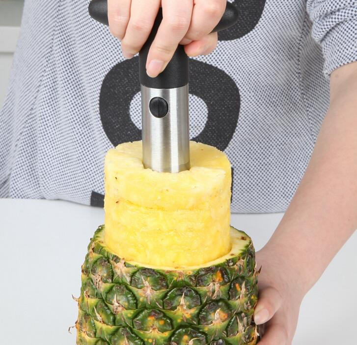 Hot Sale Stainless Steel Fruit Pineapple Slicer Peeler Cutter Kitchen Easy Tools
