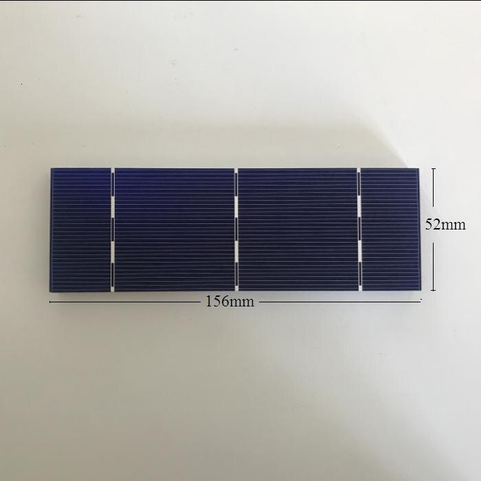 w cada peça 20% effencicy Diy mono painel solar