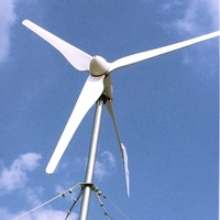 2000W Wind Turbine Generator 48V 3m/s with charge controller
