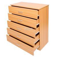 Homdox новый 5 деревянные ящики широкая грудь 28,7 на 6,4 дюйма каждого ящика постельные принадлежности мебель для Кабинета N30 *