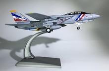 лучшая цена WLTK 1/100 Scale Military Model Toys F-14