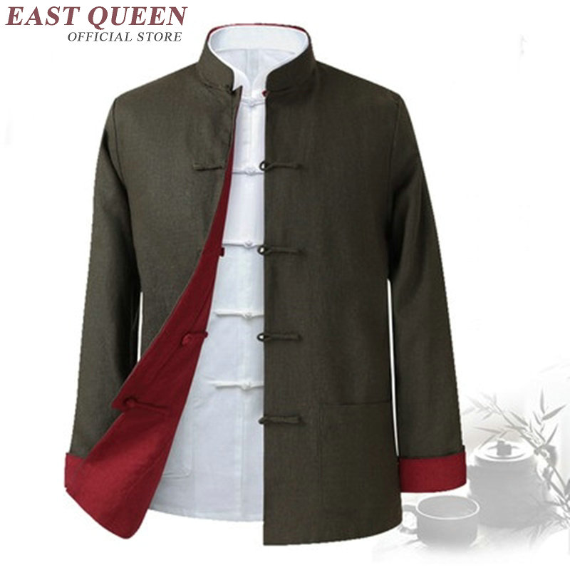 Traditional chinese clothing for men male oriental winter jacket for men wushu kung fu outfit clothing jackets men 2019 KK1599