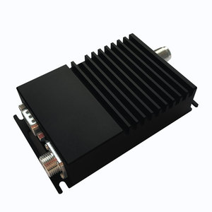Image 1 - 10 km transmissor sem fio e receptor de 433 mhz rádio modem rs485 rs232 transceptor de dados sem fio de transmissão de longa distância