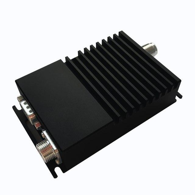 10 km transmissor sem fio e receptor de 433 mhz rádio modem rs485 rs232 transceptor de dados sem fio de transmissão de longa distância