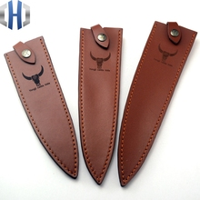 Leather Scabbard/holster Cook Knife Knives Kitchen Scabbard First Layer Cowhide Knife Set Customized Leather