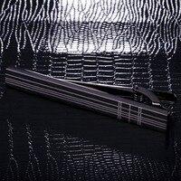 KFLK quality cufflinks stickpin tie pin man's wedding present blue grid tie clip cufflink stickpin 2018 products free shipping
