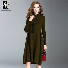 8dfc463b1495c Buy plus size olive green dress and get free shipping on AliExpress.com