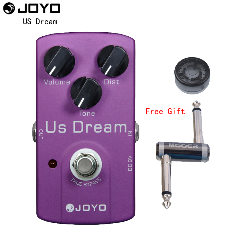 JOYO JF 34 US Dream American distorted electric guitar distortion pedal with One MOOER PC Z