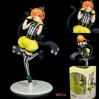 Japanese Anime Figure Love Live Cosplay Cat Cute PVC Action Figures Free Shipping