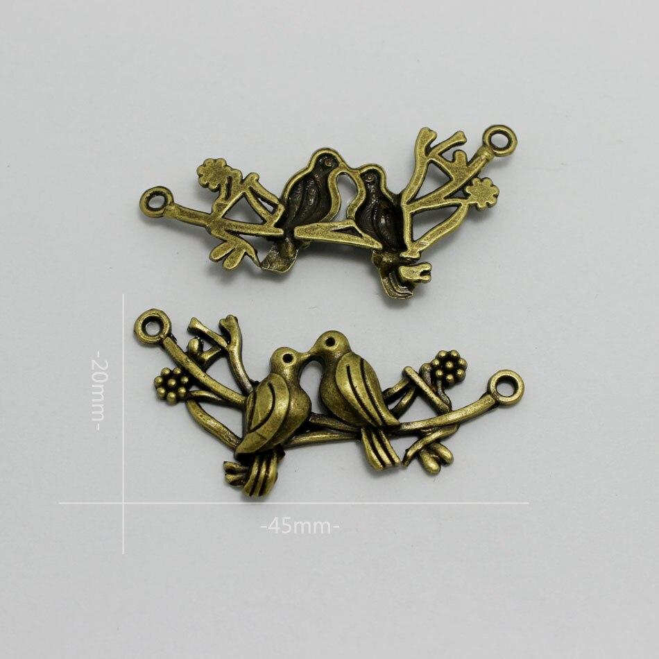 20Pcs Zinc Alloy Tree Design Charm Antique Silver Charm DIY Necklace Pendant