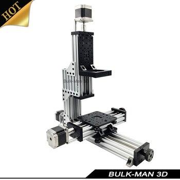 Abierto MiniMill CNC Kit mecánico 3 eje CNC Mini molino