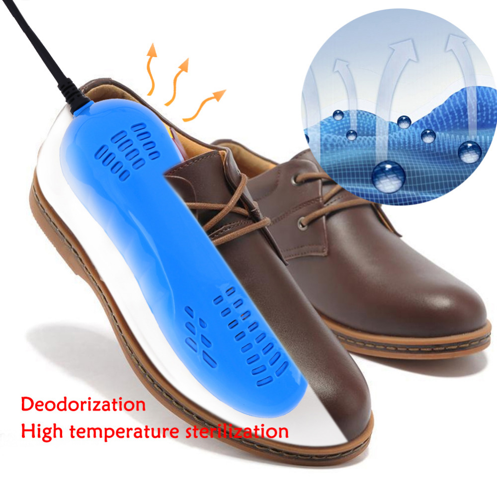 Portable Running Shoes Warm Foot Sterilization Shoes Dryer Heater Foot Protector Boot Odor Deodorant Heater US Plug