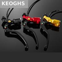 Keoghs 22 ملليمتر 7/8 'للدراجات النارية الفرامل الفاصل ليفر cnc الألومنيوم للطي ل البخارية الترابية دراجة atv رباعية الهيجان ktm أبولو
