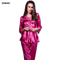2016 Top Sale Women Pajamas Summer Home Siuit Pijama For Women New Design Lace Pyjamas For