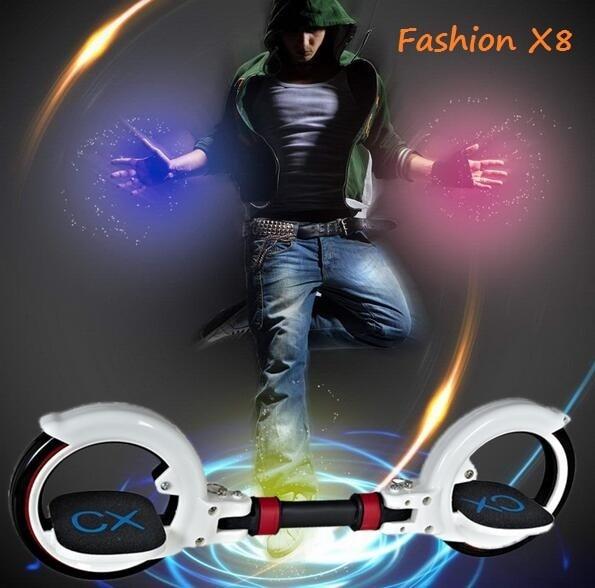 все цены на Two Wheel Skateboard  Hoverboard giroskuter Roller Foldable Drift Skateboard balancing scooter for Extreme Sports Adult walk car