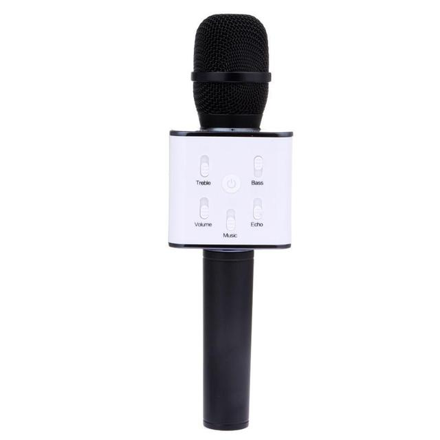 2017 Q7 Wireless Microphone Karaoke player KTV Singing Record  Bluetooth speaker Support USB Stick For iPhone Android Smartphone