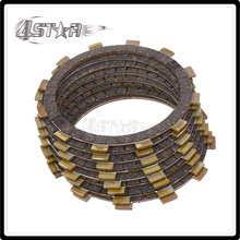 цена на Motorcycle Clutch Plate Disc Set Friction For YAMAHA YZFR6 1999 2000 2001 2002 2003 2004 2005 YZF R6 R6S YZF-R6 YZF-R6S 01-09