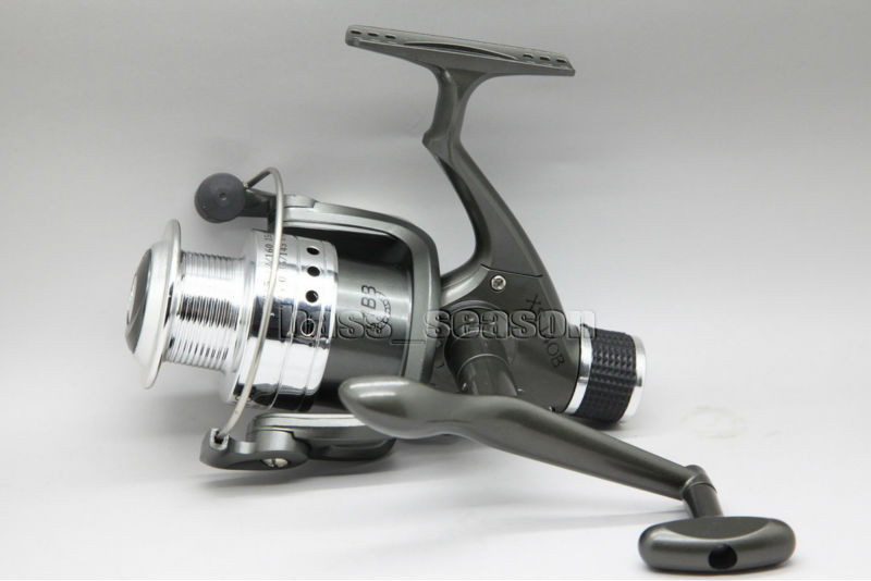 NEW REAR DRAG SPINNING FISHING REEL XS4000 5.2:1 SEA COARSE PIKE CARP FISHING