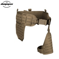 High Quality New Tactical Molle Waist Cummerbund Support Adjustable Padded Military Airsoft Shooting Hunting Waist Support Belt