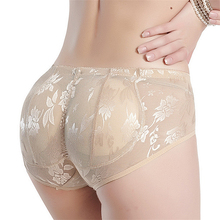Ladies Padded Panties For Women Sexy Silicone Fake Ass Hip Butt Lifter Shapers Seamless Push Up Hips Enhancing Shapewear