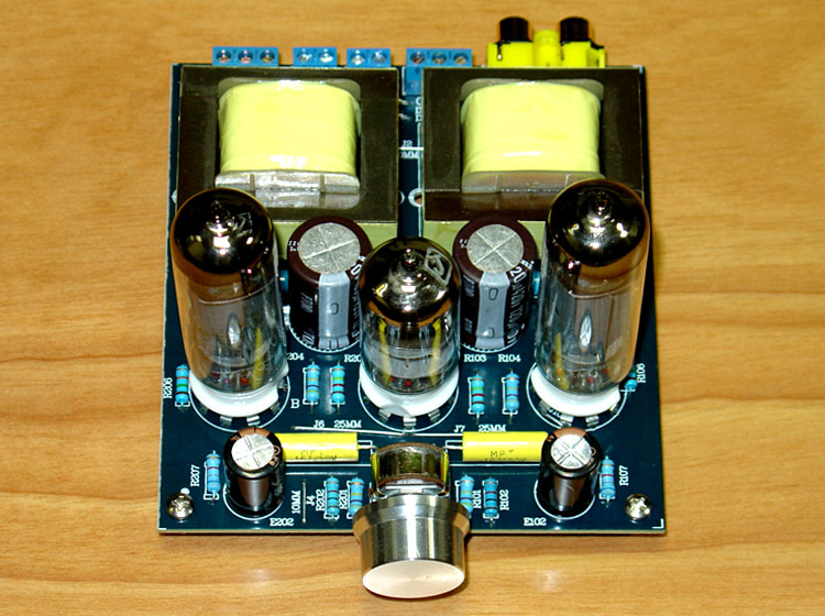 6N1 / 6N2 + 6P1 Tube 3W+3W ( 8 ohms ) Single-ended class A Fever Class Tube Amplifier Board hifi stereo 6n2 6p1 single ended class a tube amplifier amp board diy kit