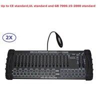 2 pçs/lote Chegada Nova DMX 200 Controlador Para Mover a Cabeça de Luz 192 Canais de Saída DMX512 Controlador de Equipamentos de DJ Partido de Disco|Efeito de Iluminação de palco| |  -