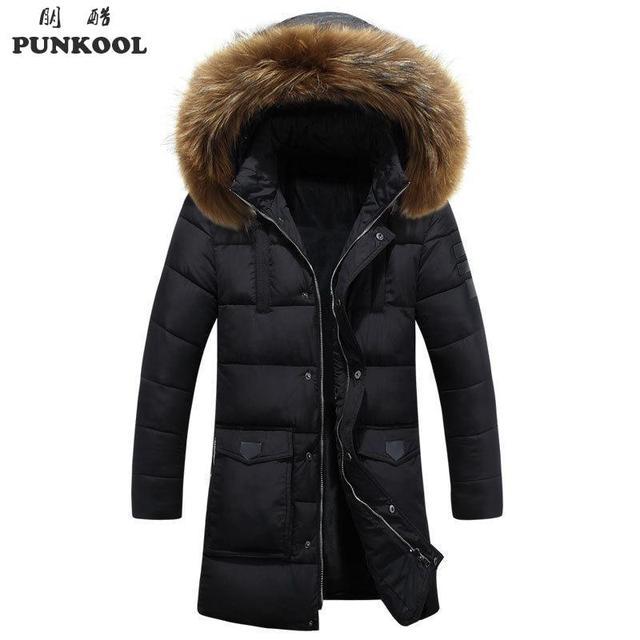Aliexpress.com : Buy PUNKOOL Long Winter Jacket Men New Fashion