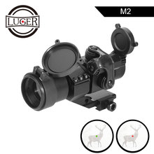 LUGER Holographic Red Dot Sight M2 Hunting Optic Rifle Scopes With 20mm 11mm Rail Mount Collimator Sight Air Gun Hunting цена