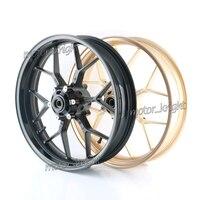 Motorcyle Alloy Front Wheel Rims For Honda CBR600RR CBR 600RR F5 2007 2018 08 09 10 11 12 13 14 15 16 17 Rims Matt Black Gold