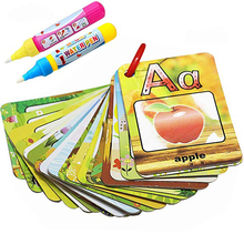 Coloring Book Educational-Toys Water-Painting-Board English-Learning Kids for 26-Alphabet