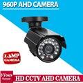 2016.11.11 горячие продаж, CCTV Камера 1.3MP 2500TVL Ик-Фильтр AHD Камеры 960 P Открытый Водонепроницаемый 3.6 мм объектив Камеры Безопасности