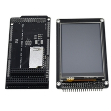 3.2 inch Tft Lcd Display + Tft/Sd Shield For Arduino Mega 2560 Lcd Module Sd Level Translation 2.8 3.2 Due