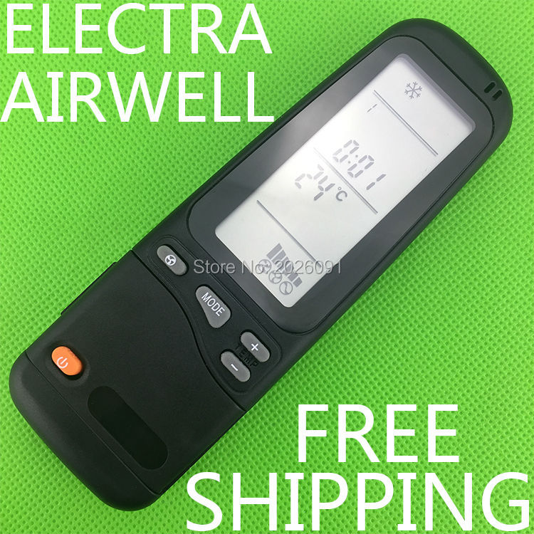 Conditioner air conditioning remote control suitable for universal Electra/  Airwell/ Emailair/ Elco ELCO RC-7 RC-7I-1 USP-4001