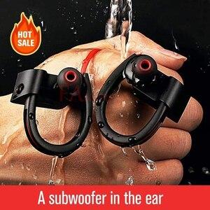 Image 4 - Fangtuosi k98 fone de ouvido sem fio, fone de ouvido esportivo wireless com microfone, gancho para a orelha, para iphone xr, samsung e huawei