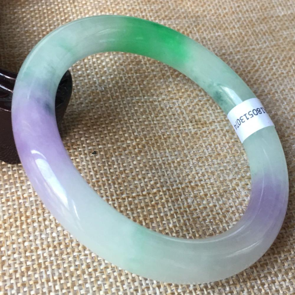 59mm Certified (Grade A)100% Natural Lavender stoneite stone Bracelet Bangle 1307459mm Certified (Grade A)100% Natural Lavender stoneite stone Bracelet Bangle 13074