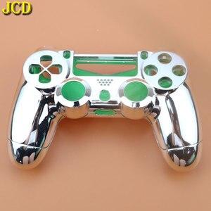 Image 2 - JCD Plating Housing Shell Case Front back / Upper Lower Cover for Sony PS4 DualShock 4 Controller Gamepad JDM 001 V1 Version