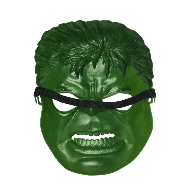 b3cc024c0f90 Hulk Mask Avenger Role playing Incredible Hulk Green Giant Man Cartoon Mask  Halloween Masks Adult Children Halloween Party Mask-in Boys Costume  Accessories ...