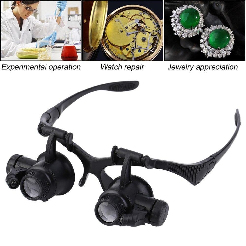 Porch Light Appraisal: 20X Binocular Loupe Magnifying Glasses Fishing Eyewear