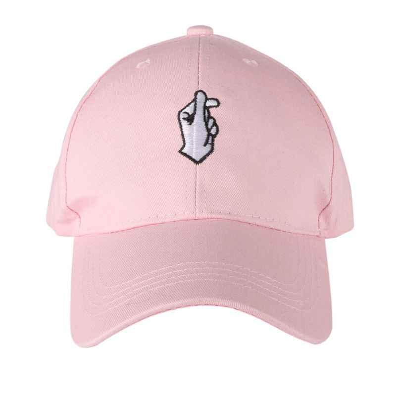 09424680fe6 ... Outdoor Sunshade Cap ROSE OK Love Gestures Finger Snapback Hats Men  Women Adjustable Adult POLO GOD ...