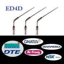3 pcs/lot Dental Scaler Tip ED4D for DTE/ Satelec/ NSK/ Gnatus/ Bonart Dentist Endo Device Instrument Teeth Whitening