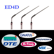 купить 3 pcs/lot Dental Scaler Tip ED4D for DTE/ Satelec/ NSK/ Gnatus/ Bonart Dentist Endo Device Instrument Teeth Whitening дешево