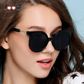 Brand Design New Luxury Women Sunglasses 2017 Round Sunglasses Mirror Sun Glasses Summer Style UV400 Goggles Lunette De Soleil