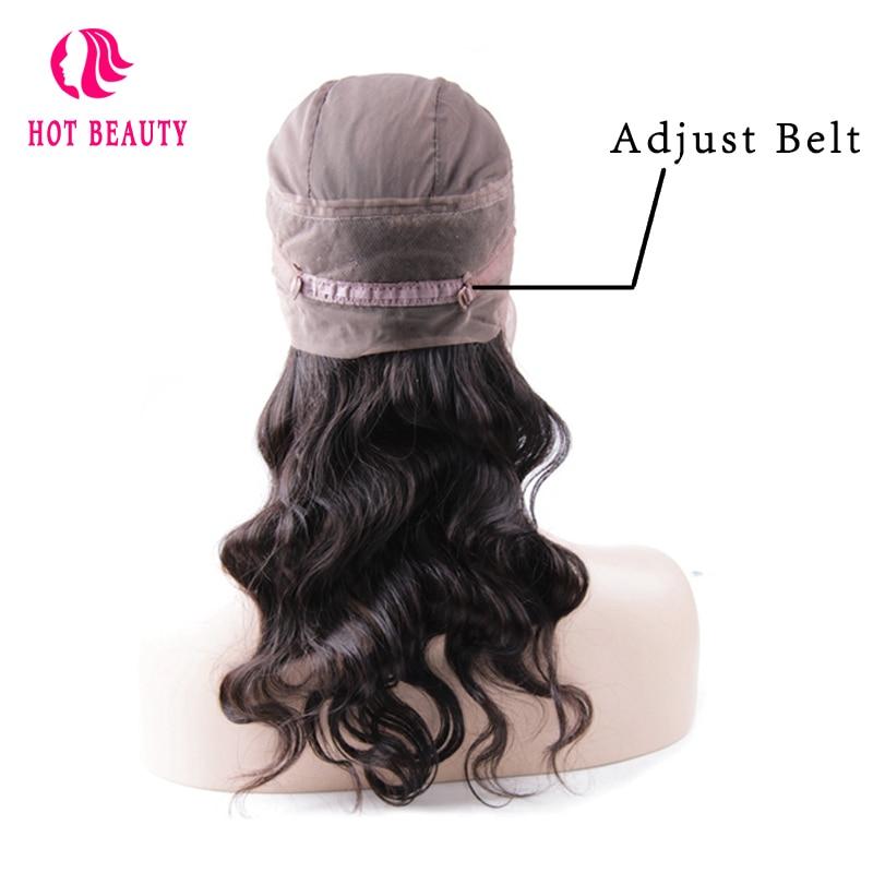 Hot Beauty Hair Brazilian Remy Hair test hullám 360 csipke - Emberi haj (fekete) - Fénykép 4