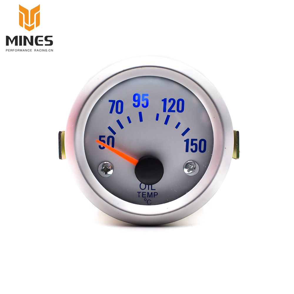 CNSPEED 52mm Oil Temp Gauge With Sensor ELECTRICAL 50~150C Car Meter ...