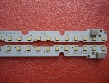 2 Teile/los led streifen für E329419 K4475CS K4476CS LK400D3LB23 54LED 447 MM