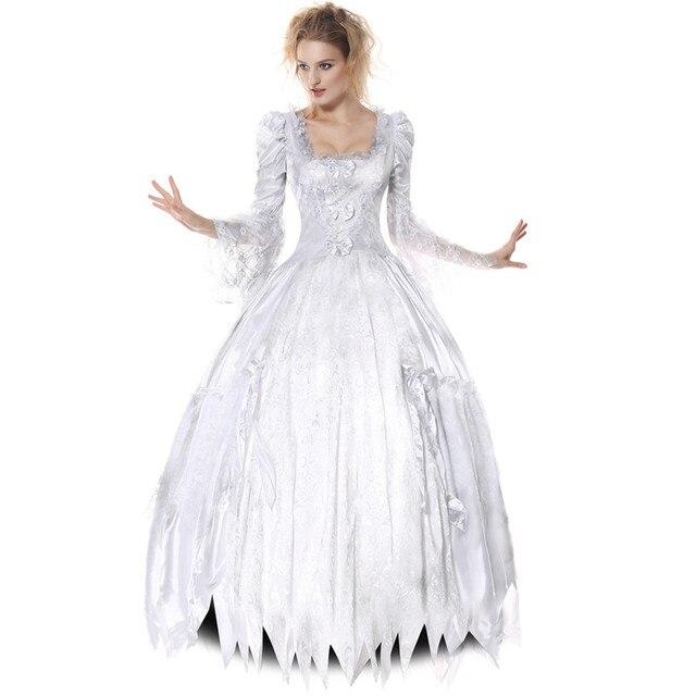 Maß Film Alice Im Wunderland Die Weiße Königin Cosplay Kostüm Weiß