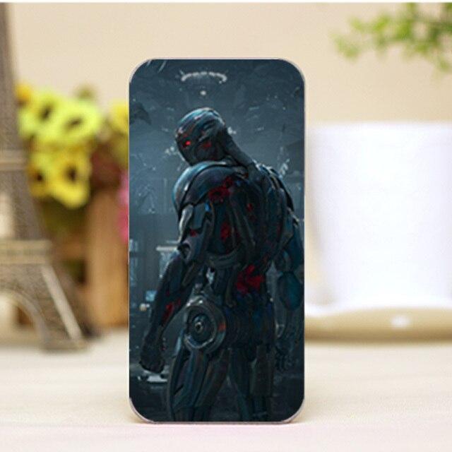 PZ0002-4-17 For Marvel Avengers logo Design cellphone transparent cover cases for iphone 4 5 5c 5s 6 6plus Hard Shell