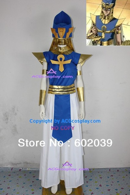 Yu-Gi-Oh! Priest Seto cosplay costume include hat props GOOD quality ACGcosplay yu gi oh anime