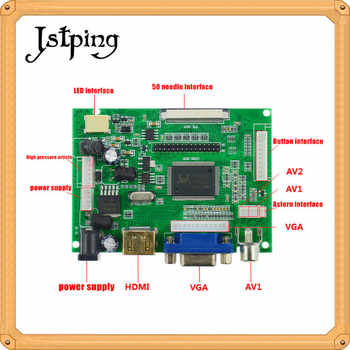 Jstping 10.1 inch HD 1280*800 tablet LCD display screen Control Driver Board Remote Monitor HDMI VGA 2AV LVDS for Raspberry Pi
